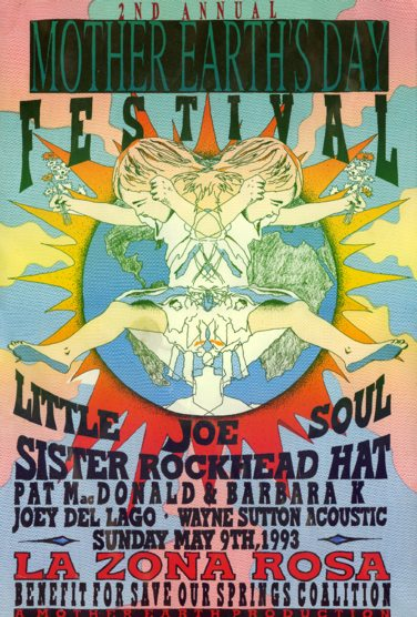 2nd Annual Mother Earth's Day Festival - May 9, 1993