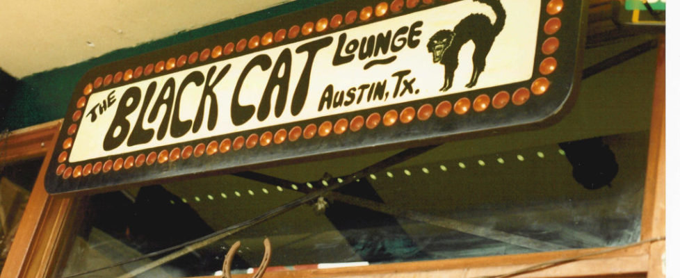 Black Cat Lounge destroyed by fire