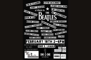 Beatles tribute / MMMF benefit concert @ ONE-2-ONE BAR | Austin | Texas | United States